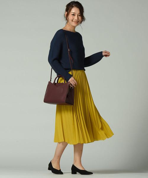 [LAUTREAMONT ONLINE SHOP] クラシカルジョーゼットアコーディオンプリーツスカート