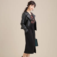 脱・地味見え☆大人女子が着こなす《ブラックスカート》のお手本コーデをご紹介◆