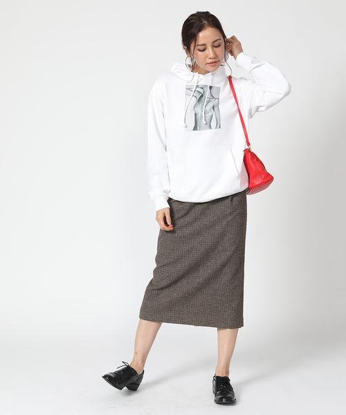 [FREAK'S STORE] ウォッシャブルウールスカート
