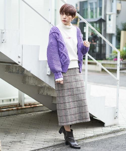 [CIAOPANIC] チェックタイトスカート