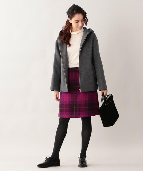 ツイードスカート2