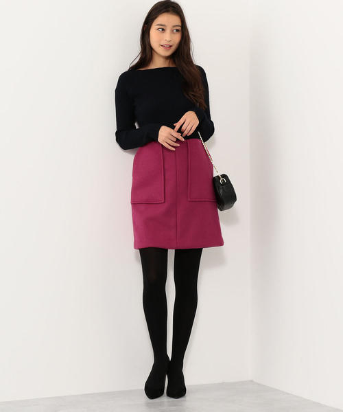 [Jewel Changes] CS ポケット 台形ミニスカート
