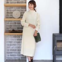 大人女子にぴったりな冬の映えカラーNo.1!「白のワンピース」特集♡