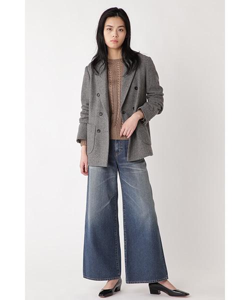 [H/standard] フレンチウールヘリンボーンジャケット