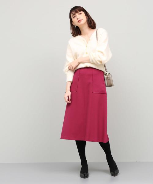 [ROPE'] トラペーズポケットスカート