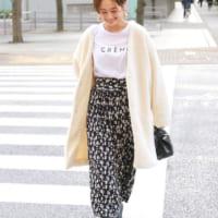【ALL5,000円以下】!今から春までたくさん穿きたい「柄スカート」を集めました♡
