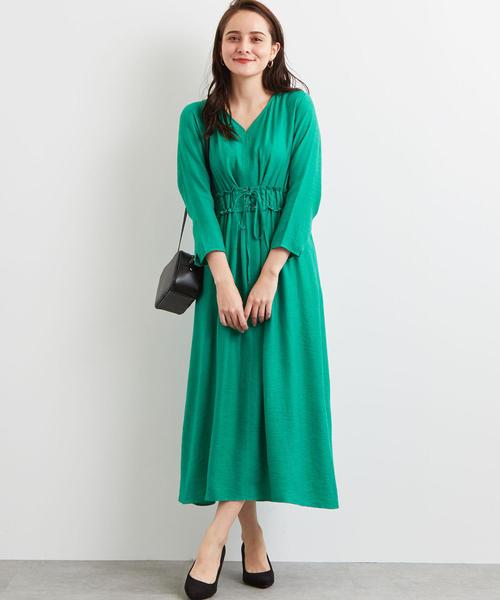 [green label relaxing] FM R/N コルセット ワンピース