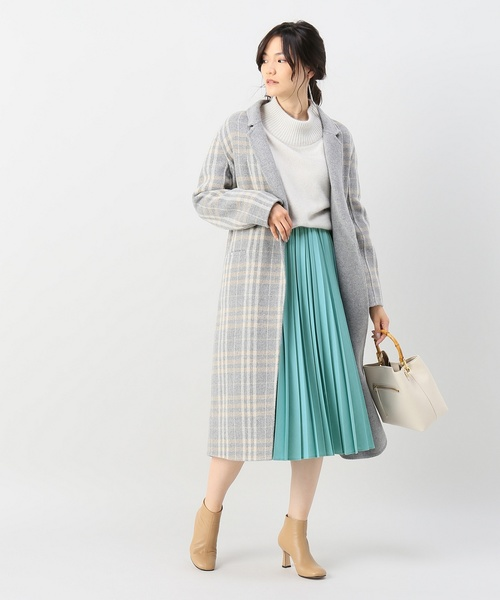 [Spick & Span] アコーディオン プリーツスカート◆