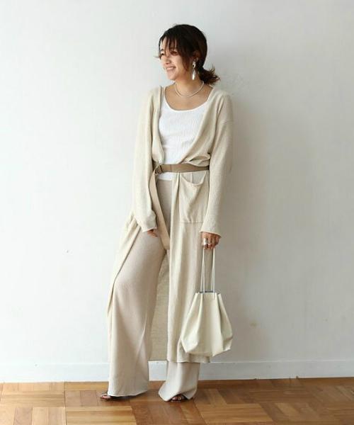 """TODAYFUL(トゥデイフル) """"Linen Knit Pants""""リネンニットパンツ"""
