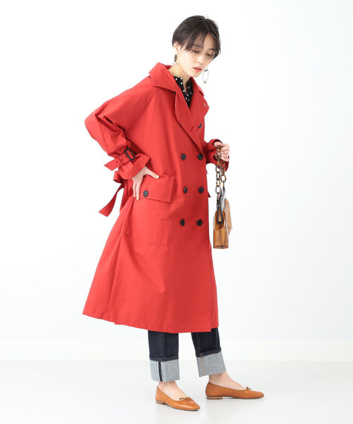 [BEAMS WOMEN] MARMARI × Ray BEAMS / 別注 スプリング コート