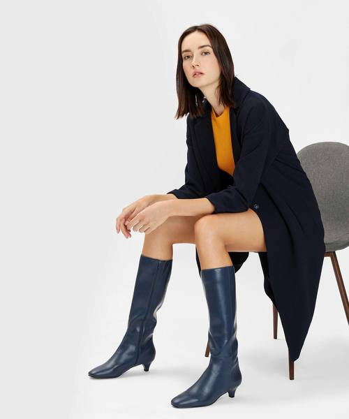 [CHARLES & KEITH] キトゥンヒール ニーブーツ / Kitten Heel Knee Boots4