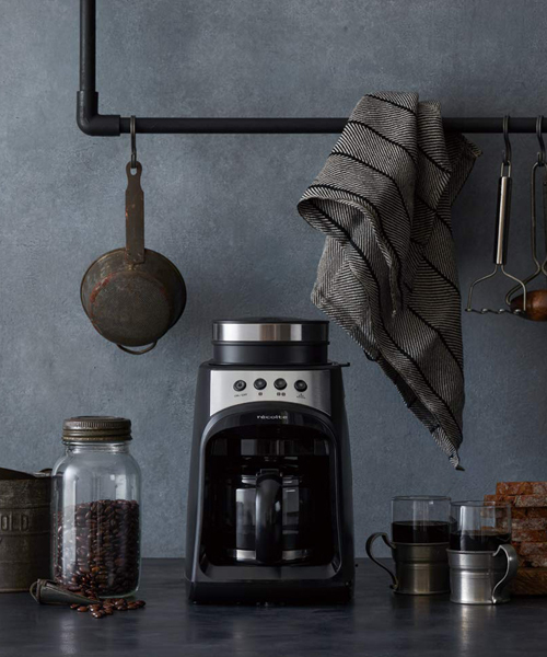 [TIMELESS COMFORT] recolte (レコルト) グラインド アンド ドリップコーヒーメーカー フィーカ