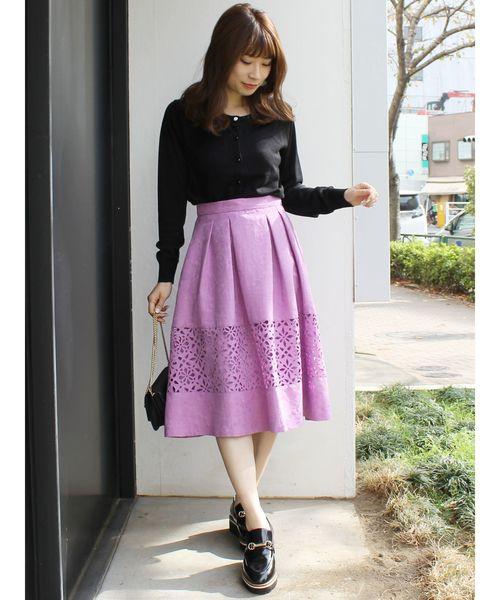 [MERCURYDUO] ヒートカット切替スカート
