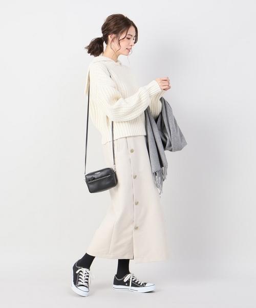 [IENA] ダブルクロスマリンスカート