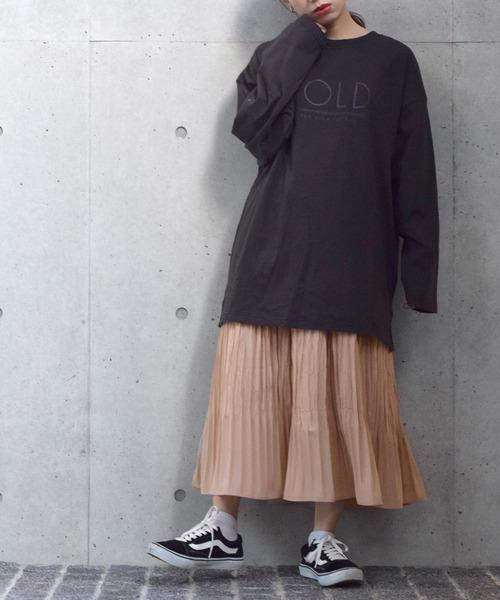 [w closet] ランダムプリーツスカート