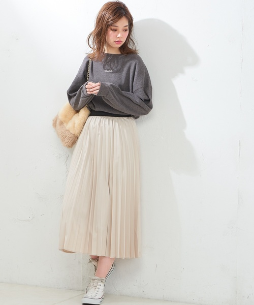 [natural couture] ちびロゴ刺繍入りワッフル