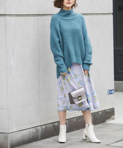 [tocco closet] リバーシブルニュアンススカート