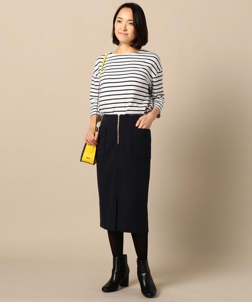 [archives] フロントファスナータイトスカート