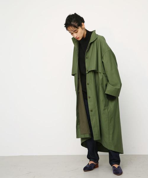 w front mods coat