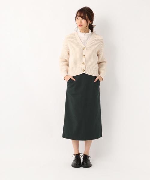 [GLOBAL WORK] カットタイトスカート/821104