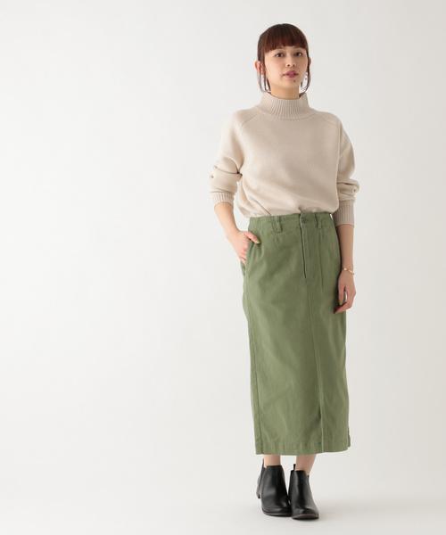 コットンカツラギナロースカート
