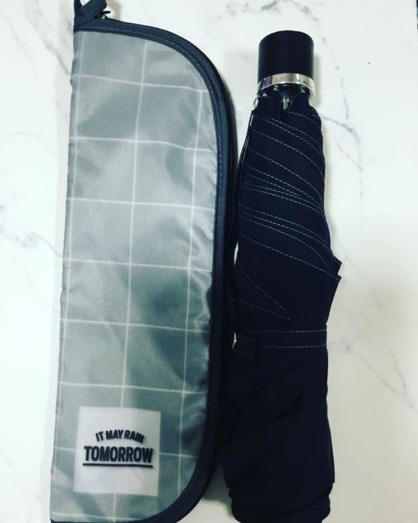ダイソー 折りたたみ傘収納ケース