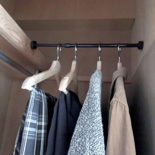 コート収納③その他のコートの収納実例6