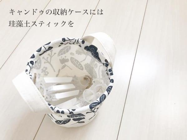 ニトリ・セリア・キャンドゥのアイテムで洗面所をすっきりと収納2