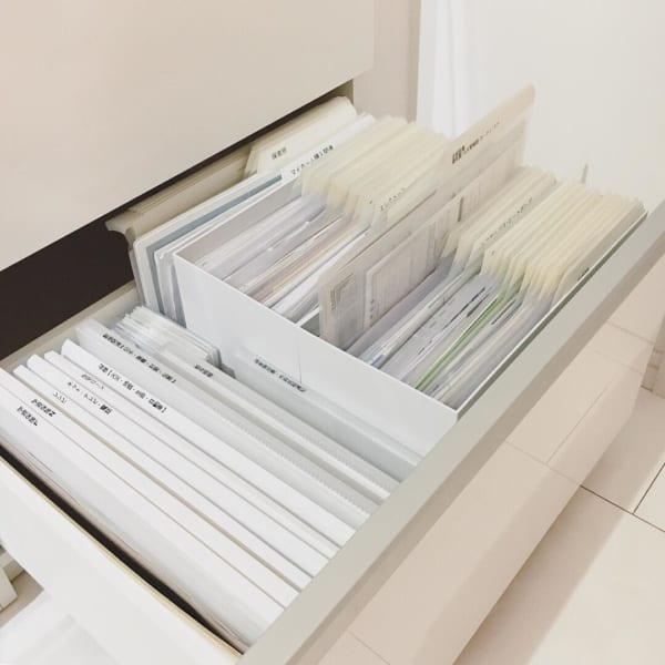 無印良品 ファイルボックス 収納6