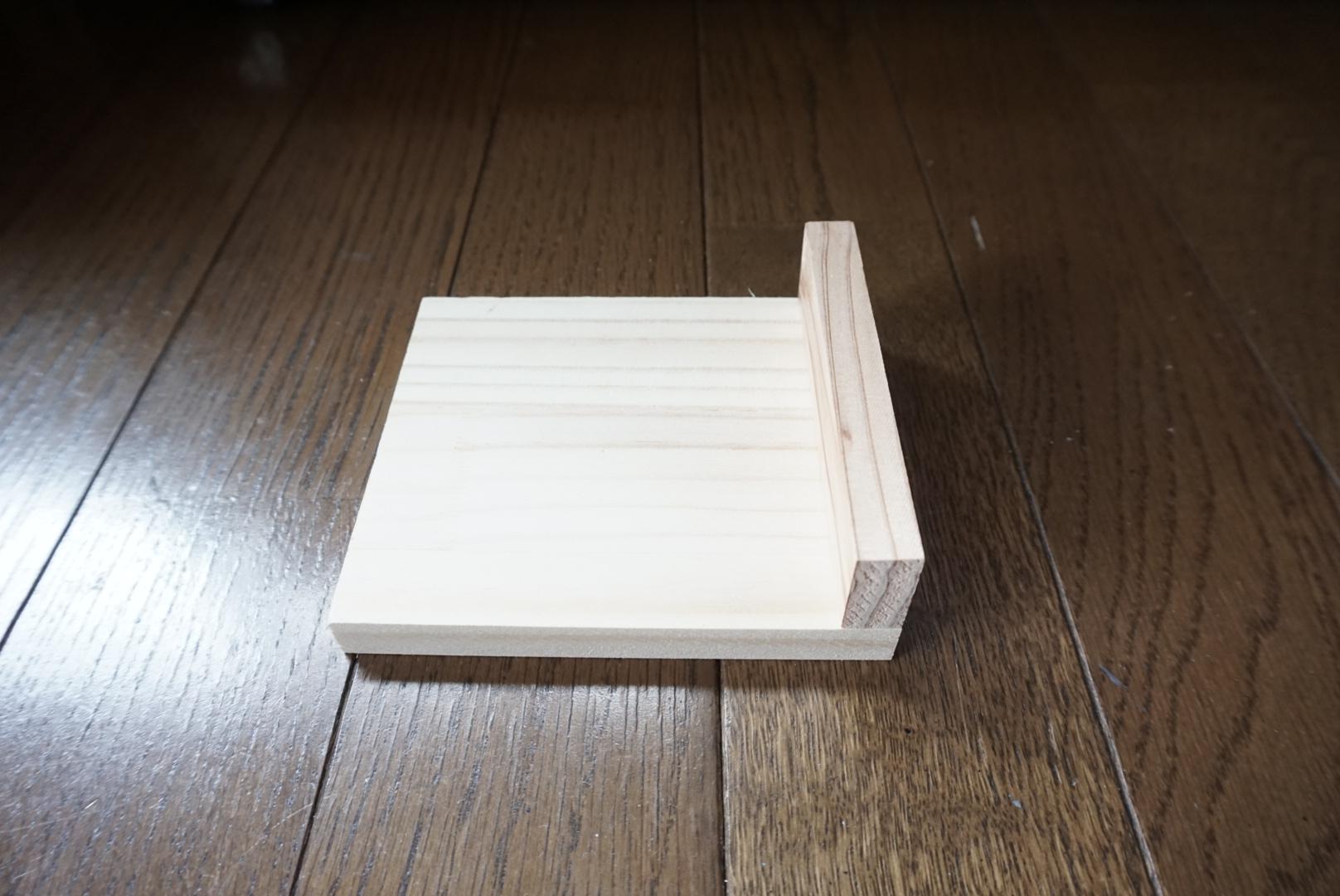端材で「ペンスタンド」DIY2