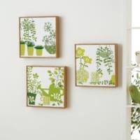 キャンバスをインテリアにプラス♪アートな雰囲気のお部屋を作ろう!