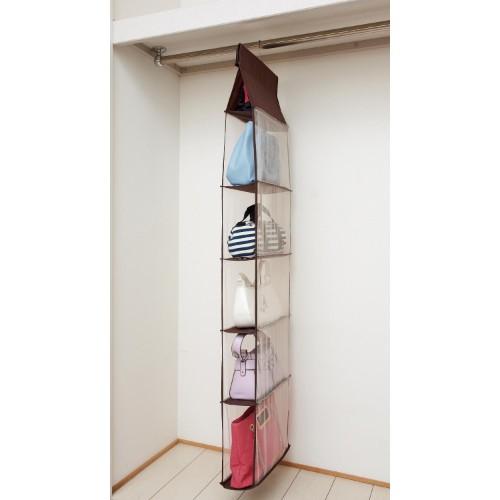 吊るす収納アイデア④ファッション類9
