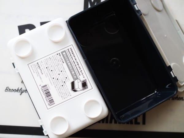キャンドゥ フタ付きスタッキングボックス モノトーン2