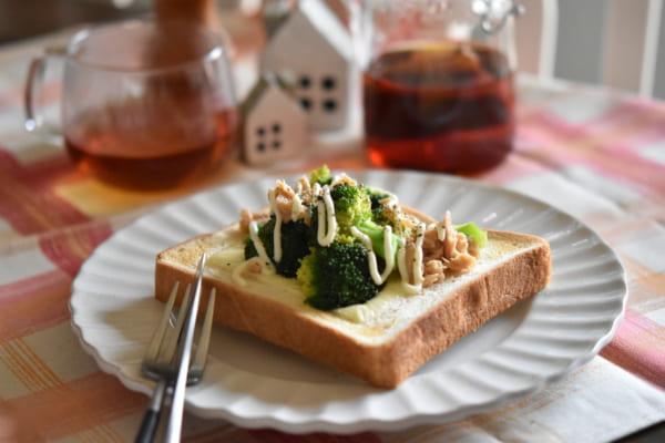 ブロッコリーとツナの蒸し煮を使ってアレンジしてみましょう3