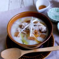 【連載】『余ったお餅活用』炊飯器で作れる参鶏湯風おかゆ