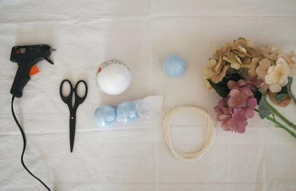 ひな祭りディプレイ DIY フラワーボール 材料