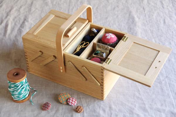 裁縫道具収納 倉敷意匠
