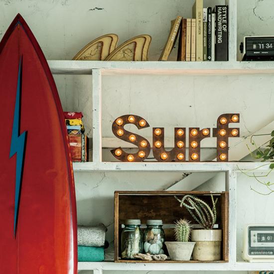 メッセージライト Surf
