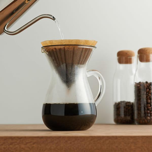 キントー ガラス製品 コーヒーカラフェセット