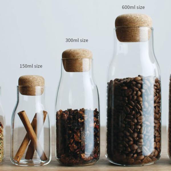 キントー ガラス製品 ボトルキャニスター