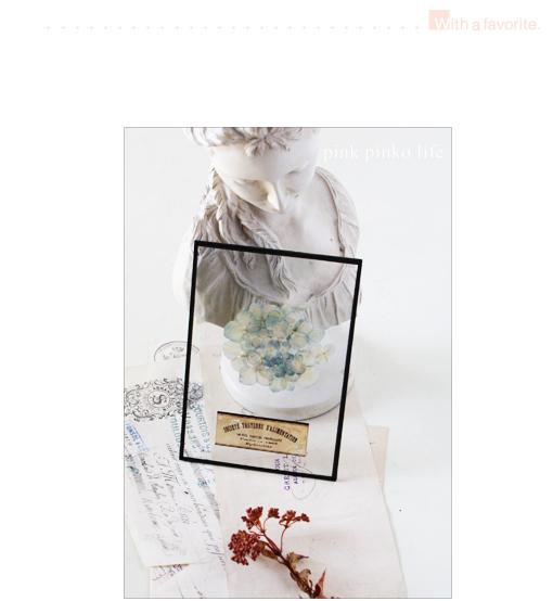 フレームDIY 押し花