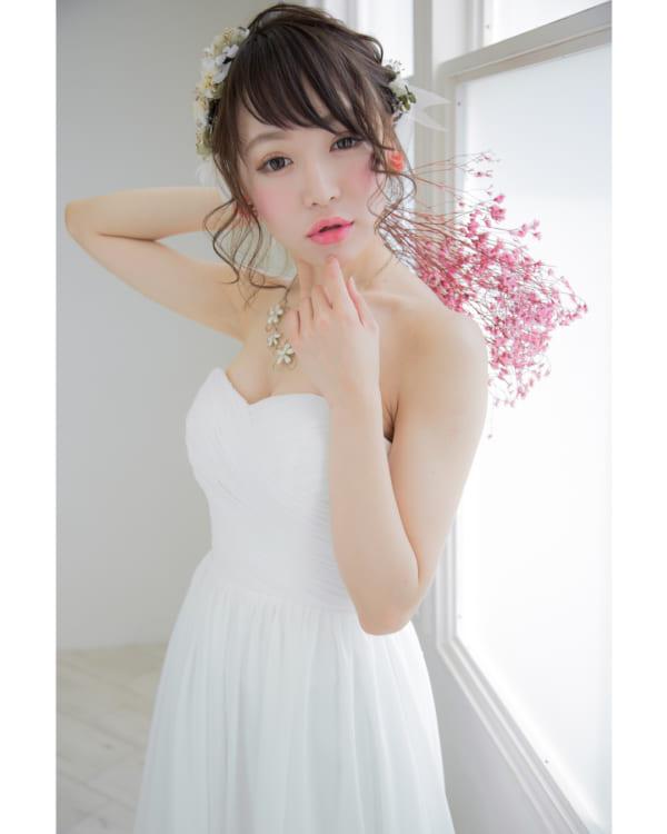 花嫁シニヨン