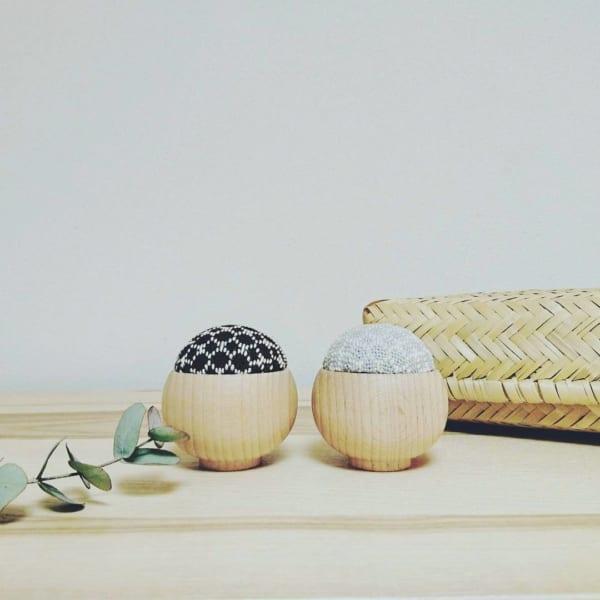 裁縫道具収納 竹かご