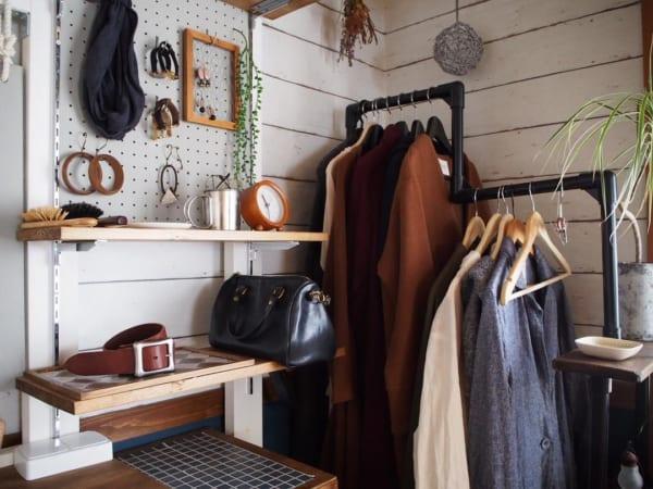 コート収納③その他のコートの収納実例8