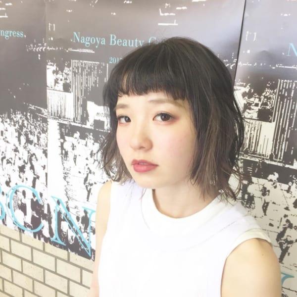 前髪短めボブ・ミディアムボブ3