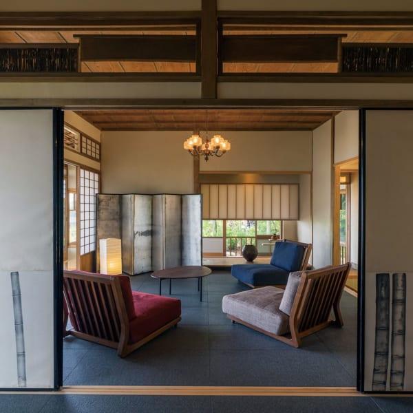 和モダンインテリア ノスタルジックな日本家屋リノベーション