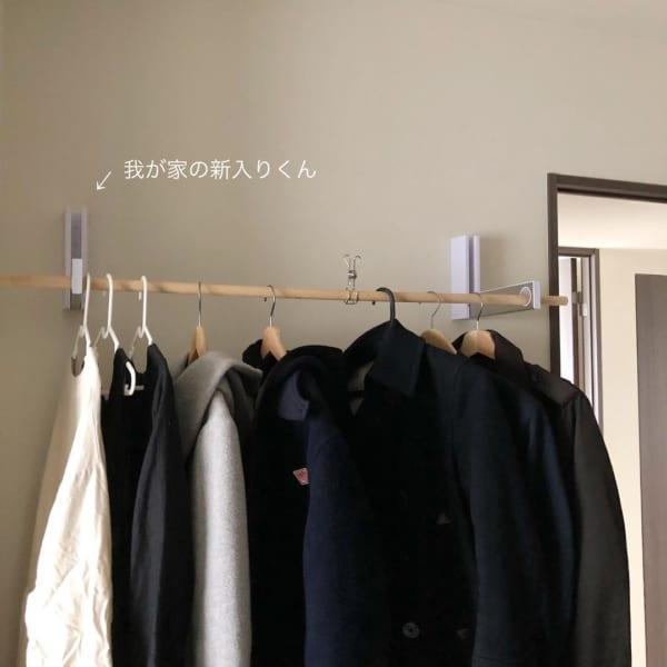 コート収納⑤コート収納におすすめのアイテム特集17