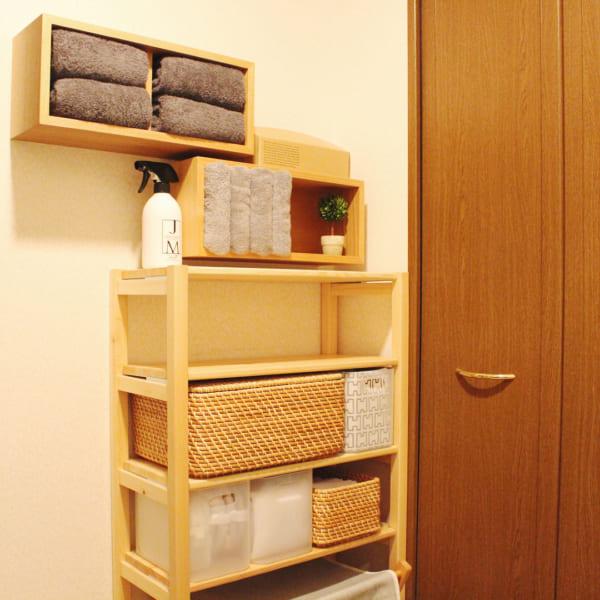 無印の壁に付けられる家具は賃貸でも使える!6