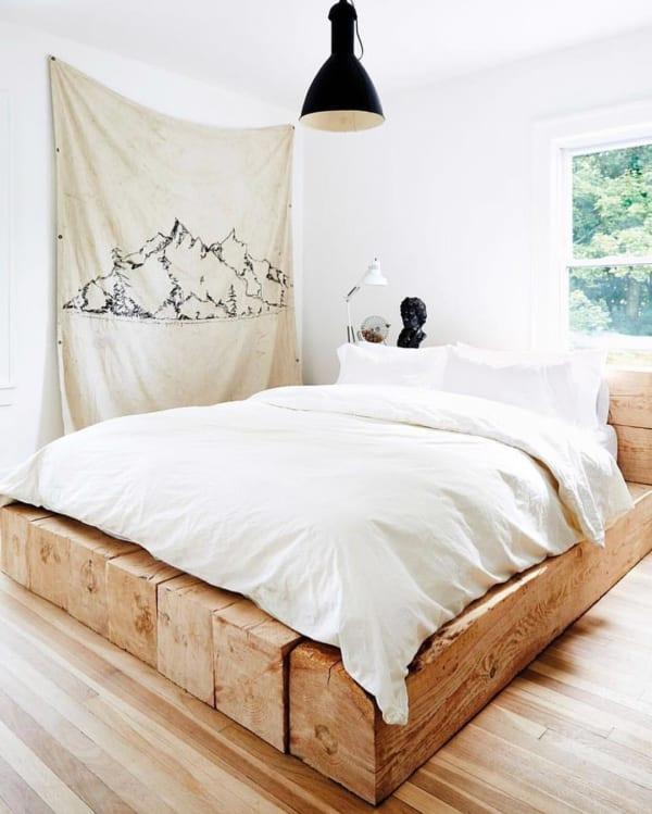 ナチュラル感溢れるベッドルーム2