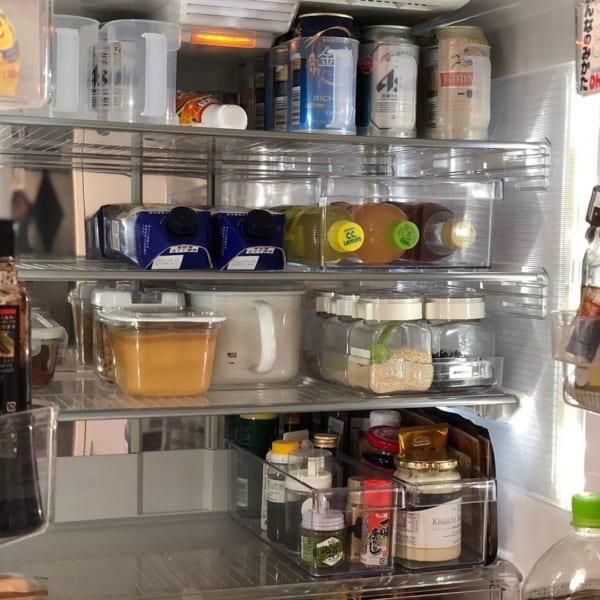 冷蔵庫収納 調味料をすっきり収納